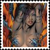 Witchblade Stamp by Vampirella-Selene