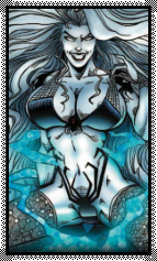 Lady Death Big Stamp by Vampirewiccan