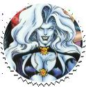 Lady Death Round Stamp by Vampirewiccan
