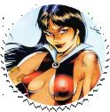 Vampirella Round Stamp 04 by Vampirewiccan