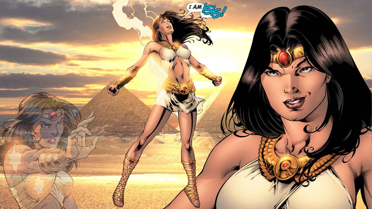 DC Comics' Isis Wallpaper