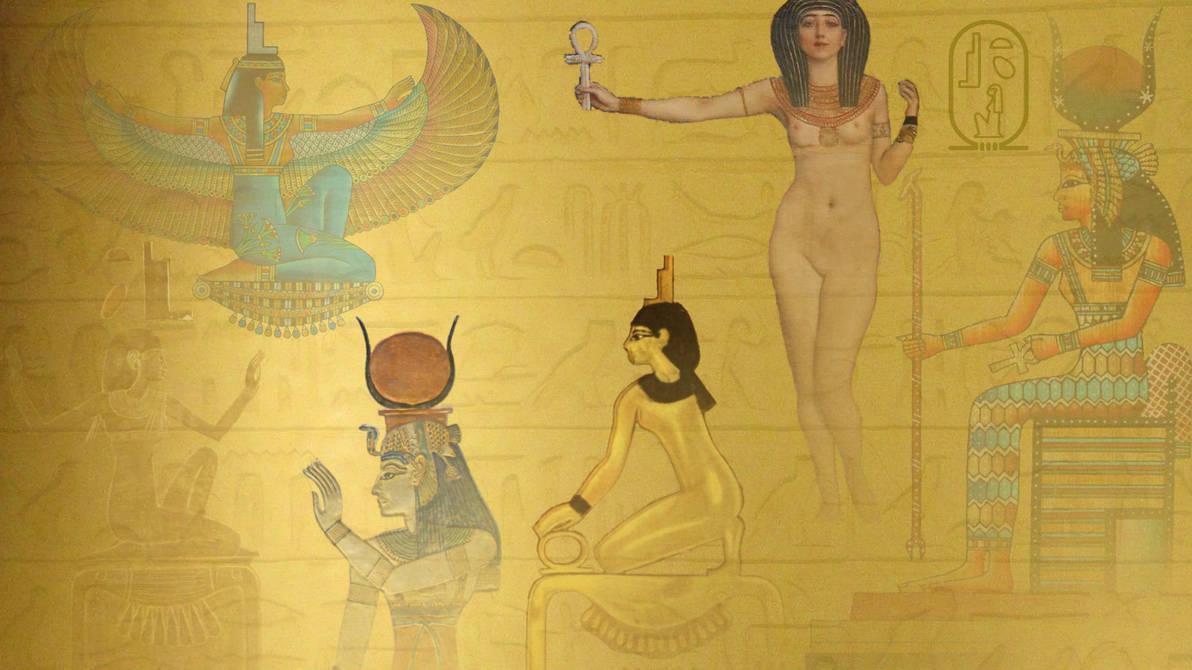 Goddess Isis Wallpaper