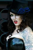 Steam Punk Vampiress I by ShadowDreamers