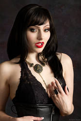 The Vampiress Isis Noir by ShadowDreamers