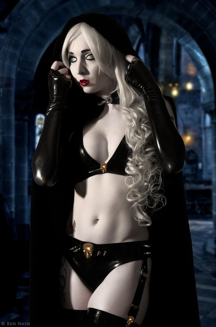 Lady death cosplay xxx hentai tit
