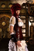 Sultry Steam Punk by ShadowDreamers