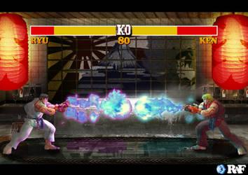 Street Fighter IV Flashback by rafiqm