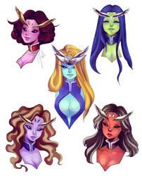 FA: DD GIRLS by Jullika