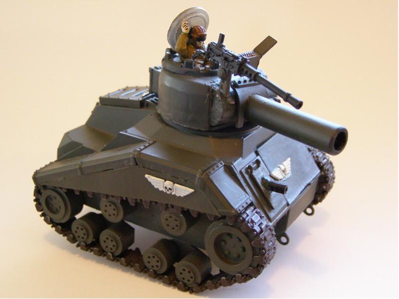 Warhammer 40K Sherman Russ by ShadowGyrlBrice