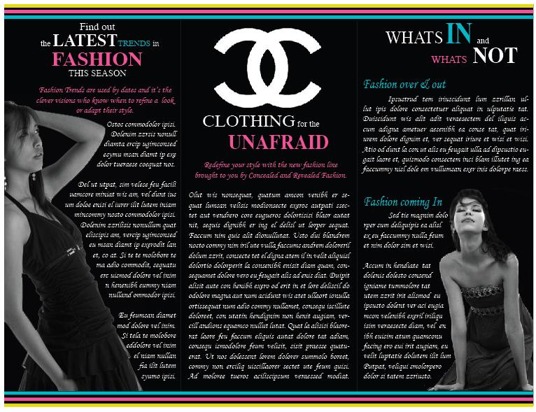 Fashion Brochure Inside by nouveau-art on DeviantArt