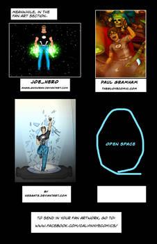 joe hero issue 4 fan art space