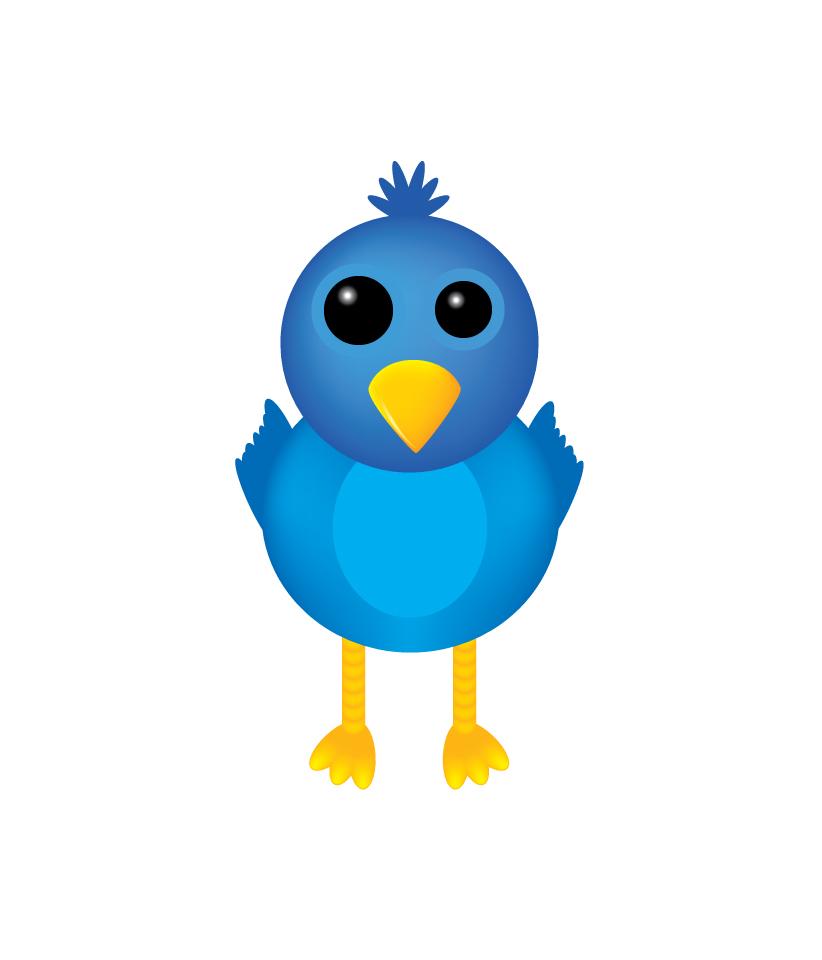 Twitter Bird by adracko