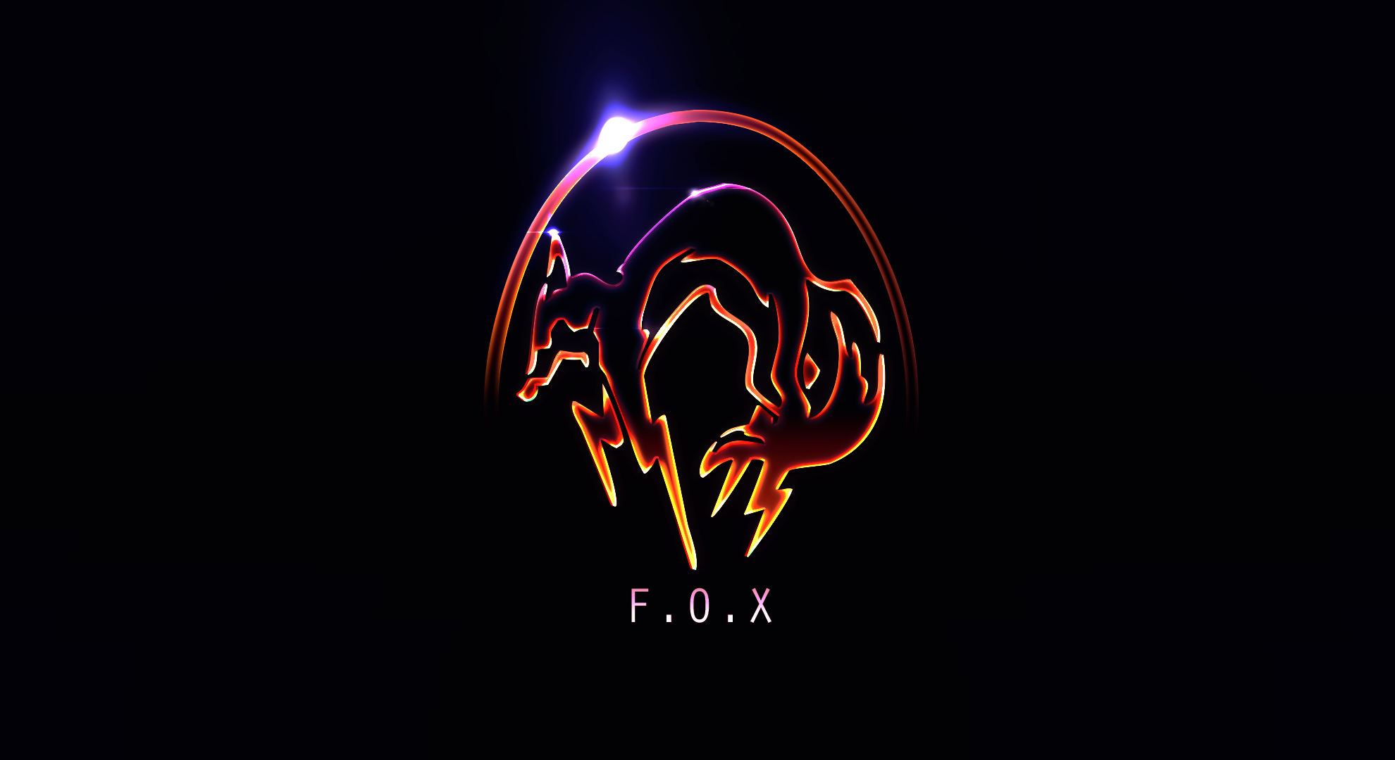 Foxpaper (Metal Gear Solid) by FreshPaprika