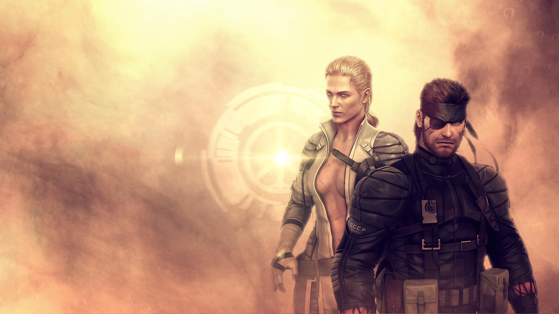 The Boss And Snake Metal Gear Solid By Freshpaprika On Deviantart