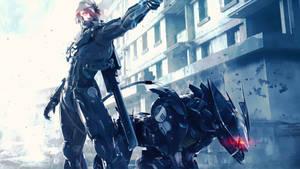 Revengeance (Metal Gear Solid) by FreshPaprika