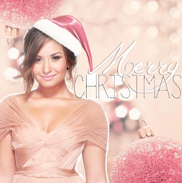 Demi Lovato Christmas icon by Lorenervante on DeviantArt
