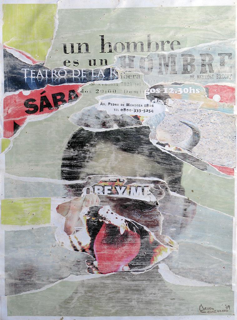 Afiche Un hombre es un hombre by BrunoDeLeo