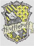 Hufflepuff embroidery pattern