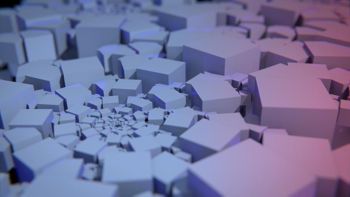 Fractale Cubique by Terraben