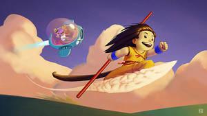 Dragon Ball by nlombardo