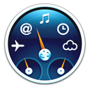 Blue Dashboard Icon by Androly