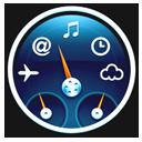 Blue Dashboard Icon