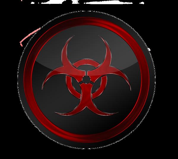 biohazard logo by bigburgy on deviantart rh bigburgy deviantart com biohazard logo wallpaper biohazard logo clip art