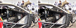 Dragster v8 in 3D (stereoscopic) 5