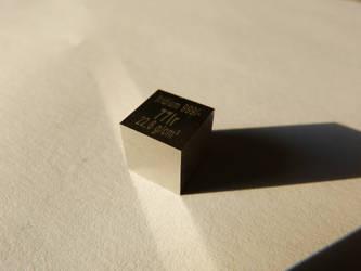 Iridium Cube 1cm^3 by Bigburgy