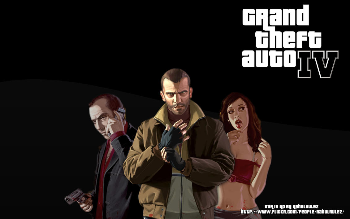 GTA IV HD Wallpaper by Rahulrulez on deviantART