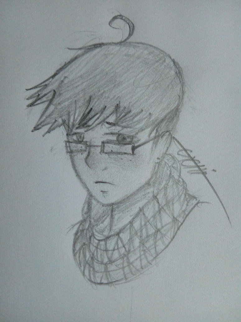 Random nameless character by HomicidalThoughts