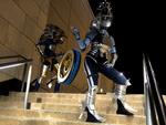 FFXIII: Shiva Sisters: - Nix + Styria Cosplay