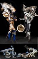 FFXIII: Shiva Sisters Cosplay by Nobodyyyyy