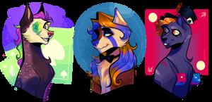  Trio of Fun + Commission  