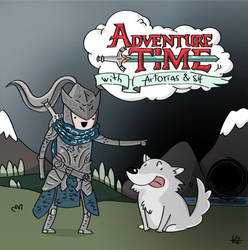Adventure Time With Artorias And Sif by nuncamais