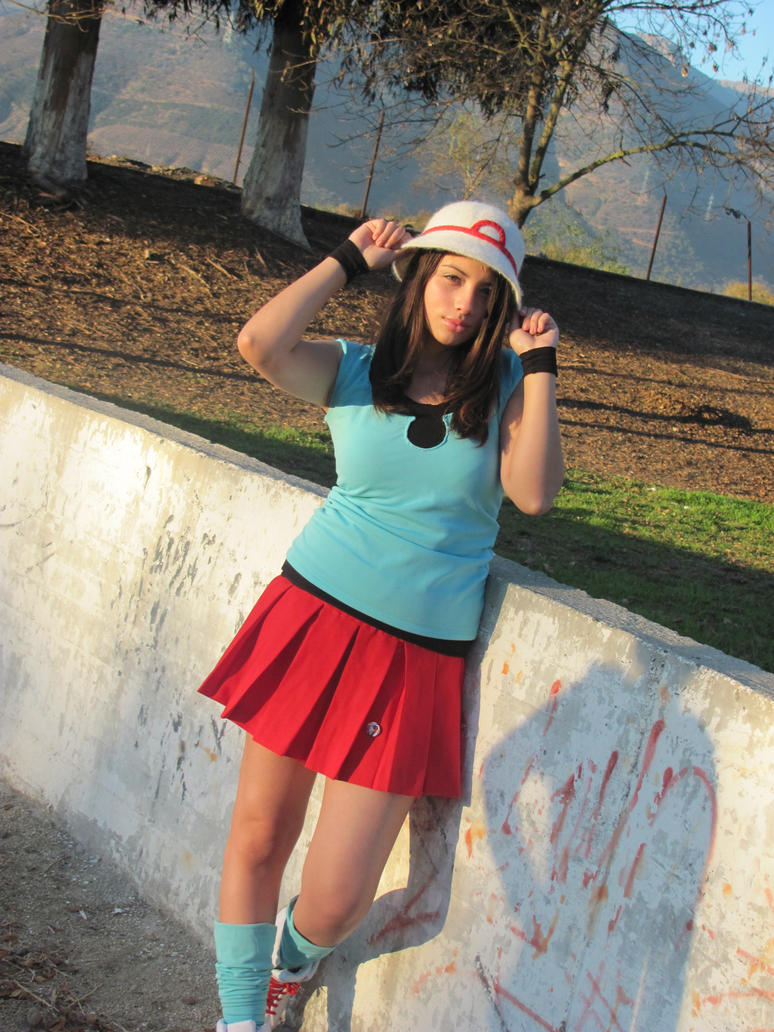 cosplay Pokemon moon trainer