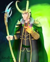 Infinity Lord Loki by kontsuki