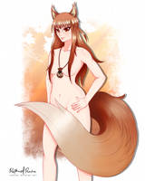 [Request] Holo - Spice and Wolf by kontsuki