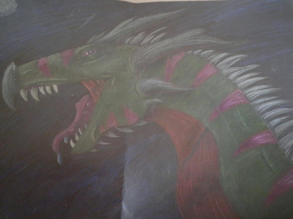 Rose dragon by dupinema