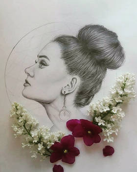 Portrait practice - in graphite
