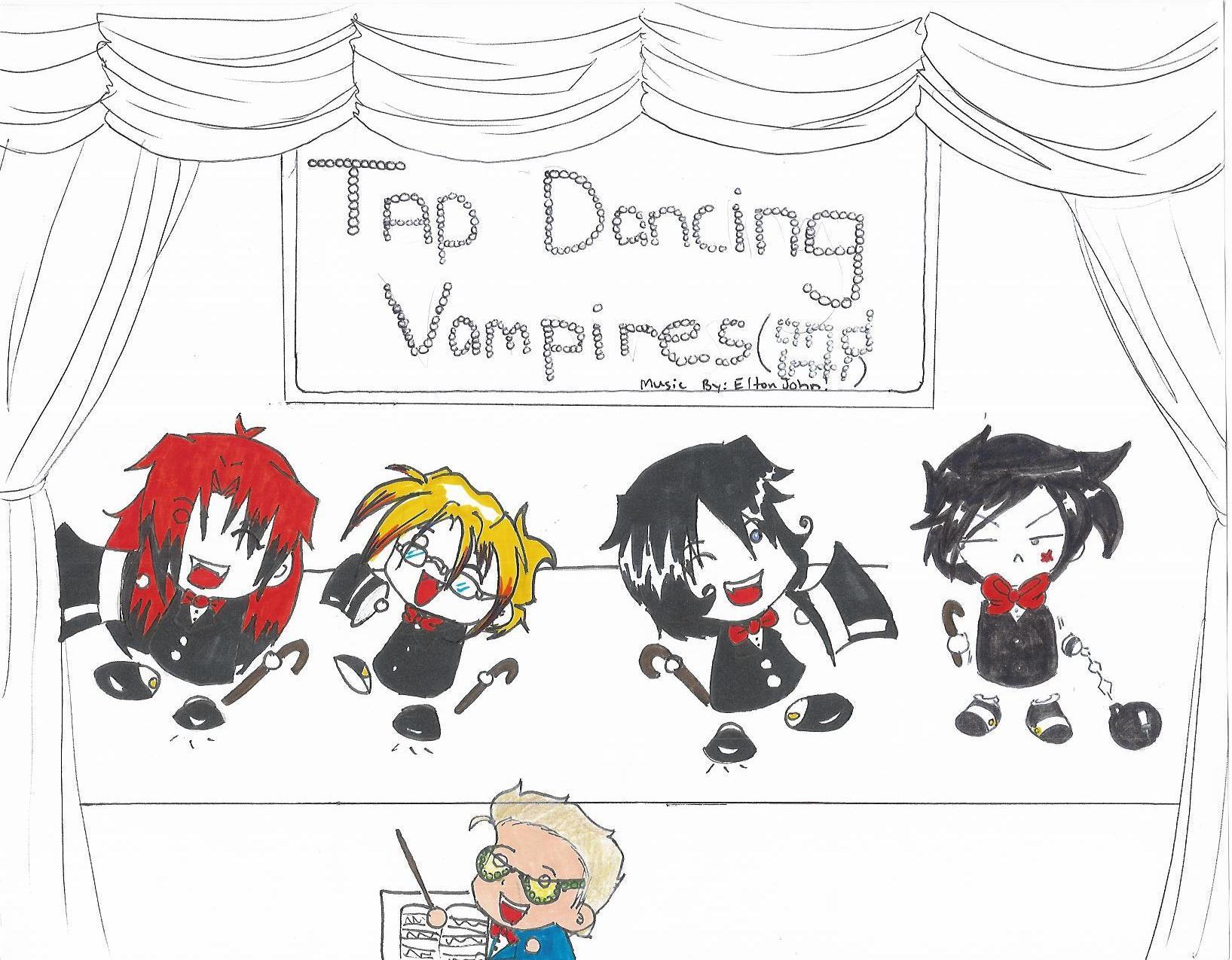 COLAB: Tap Dancing Vampires by vampiric-wolf