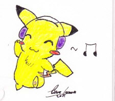 Dancing Pika by FringedPikaa