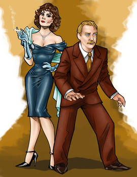 Ms. Scarlet and Col. Mustard