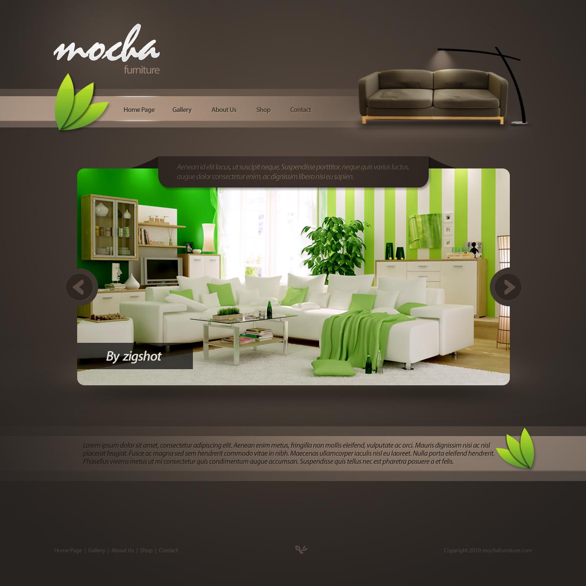 mocha furniture by gdnz