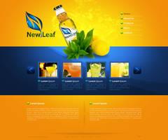 new leaf web by gdnz