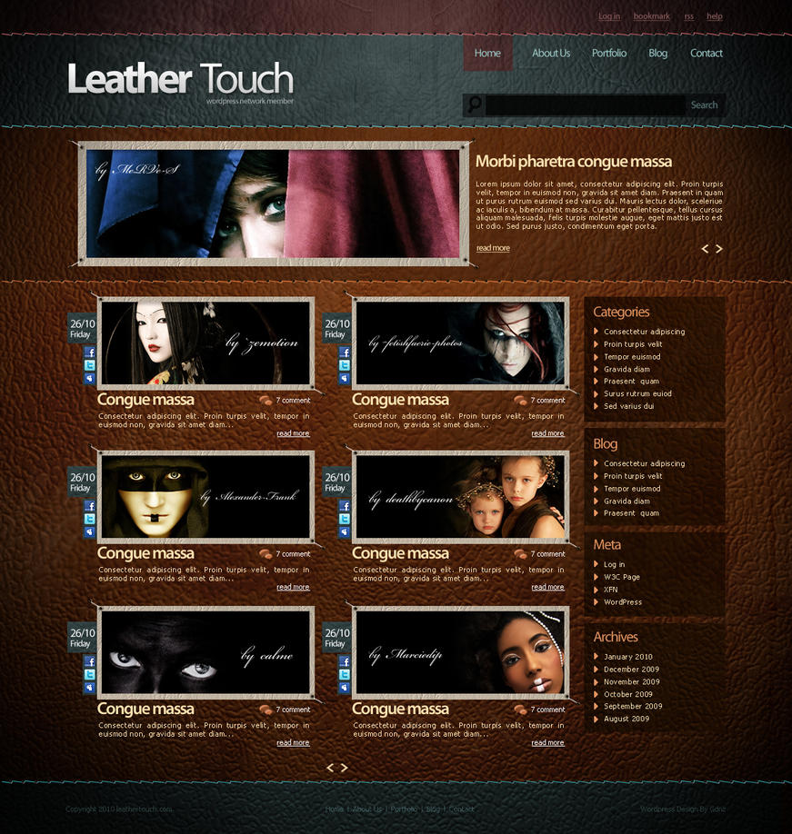 leather touch by gdnz