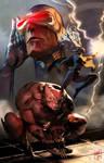 X-men Cover Illustraiton