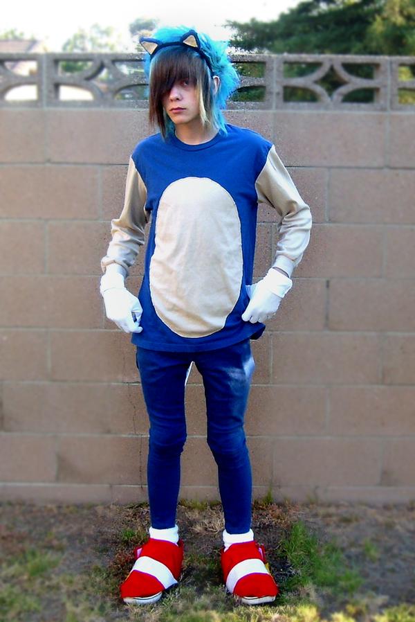 Sonic the hedgehog cosplay by litzdudenoah