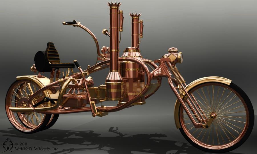 Chopper - 1917 Steamer by WiKKiDWidgets