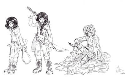 the hunger games by mikkusushi